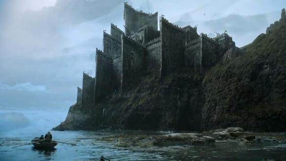 The Targaryen castle of Dragonstone