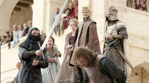 Ned Stark executed by Ser Ilyn Payne