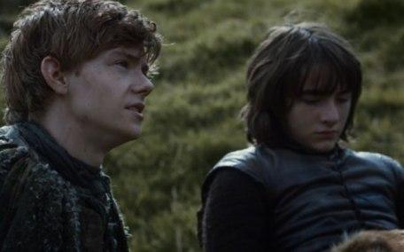 Jojen Reed with Bran
