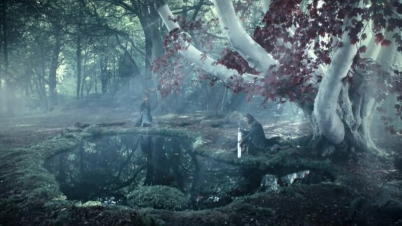 In the North, they still honor the ways of the Children, praying to the weirwood trees
