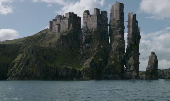 Seat of House Greyjoy, the great castle of Pyke