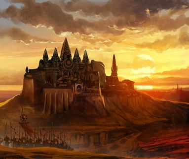 Sunspear, seat of House Martell and capital of Dorne