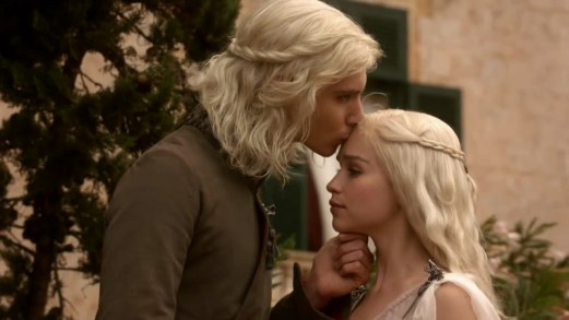 The Beggar King, Viserys, and his sister Daenerys