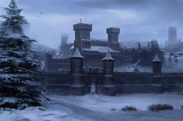 The great castle of Winterfell