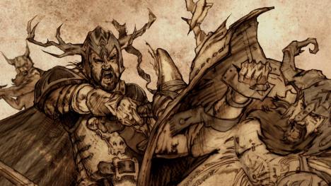 Orys Baratheon, leading the fight against Argilac the Arrogant