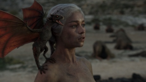 Daenerys, the mother of dragons