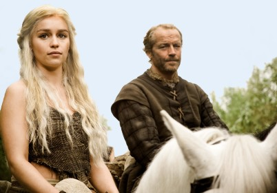 Jorah Mormont and Daenerys