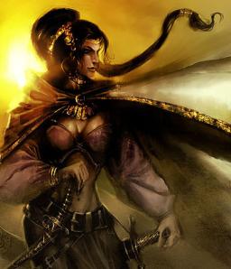 Warrior Princess Nymeria of Rhoyne
