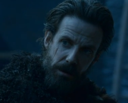 Locke, pretending to be a recruit of the Night's Watch