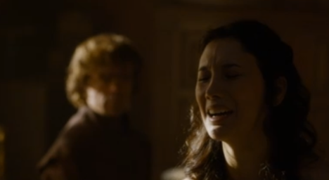 To save her life, Tyrion must break her heart and pretend that he does not love her