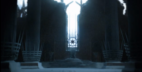 The desolated Throne room, a vision Bran and Khaleesi both saw.