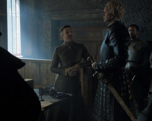 Brienne and Baelish