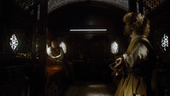 Tyrion and Varys travel to Volantis