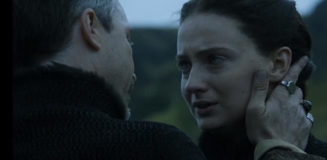 Baelish and Sansa