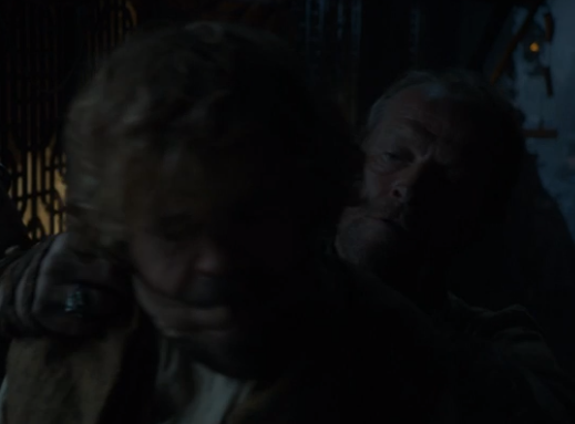 Ser Jorah kidnaps Tyrion