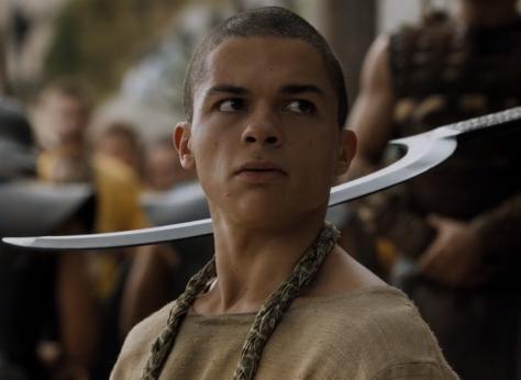 The ex-slave Khaleesi executes