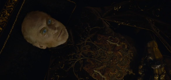 The death of Lord Tywin, marking the end of a Lannister era