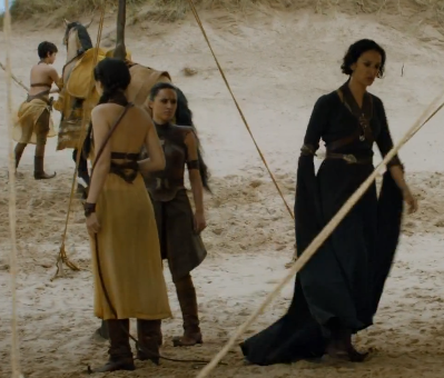 Ellaria and the Sand Snakes