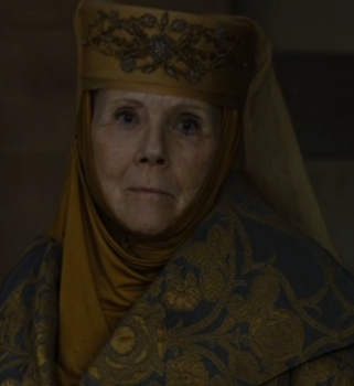 Lady Olenna stares down Cercei