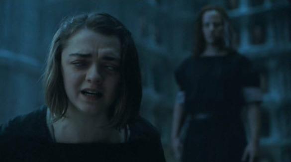 Arya losing her vision