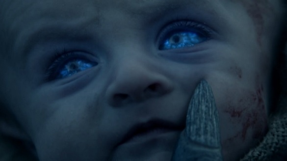 Season 4 episode where we saw a White Walker king turn a baby into a White Walker