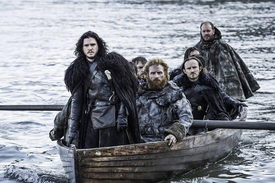 Jon Snow approaches Hardhome