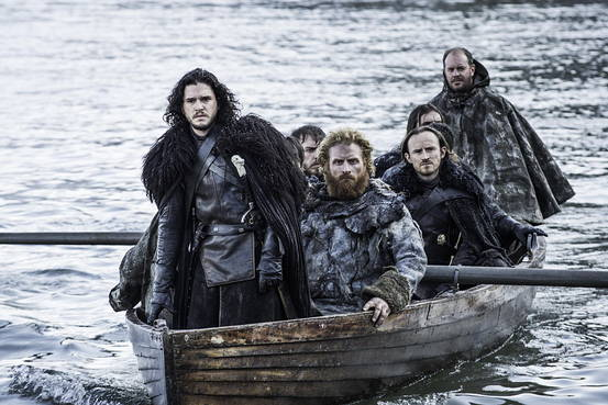 Jon Snow approaches Hardhome