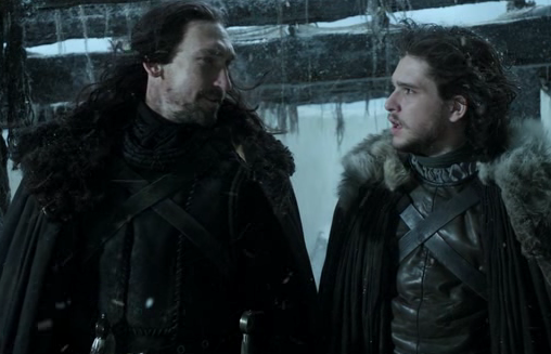 Benjen Stark before he disappeared
